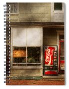 Store Front - Waterford Va - Waterford Market  Spiral Notebook