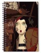 Store Mannequin Spiral Notebook