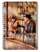 Store - The Messenger  Spiral Notebook