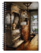 Store - Turn Of The Century Soda Fountain Spiral Notebook