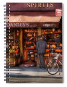 Store - Wine - Ny - Chelsea - Wines And Spirits Est 1934  Spiral Notebook