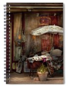 Storefront - Frenchtown Nj - The Boutique Spiral Notebook