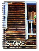 Storefront Rustic Spiral Notebook