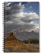 Storm Approaching Spiral Notebook