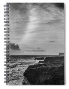 Storm Approaching Hook Head Spiral Notebook