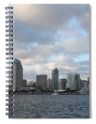Storm Approaching San Diego  Spiral Notebook