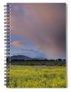 Storm At Sunset Spiral Notebook