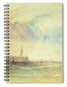 Storm At Sunset, Venice, C.1840 Spiral Notebook