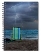 Storm Chairs Spiral Notebook