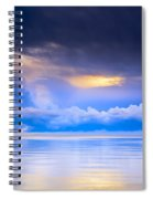 Storm Clouds And Lake Winnipeg At Spiral Notebook