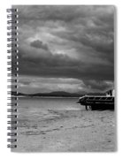 Storm Clouds Coming Spiral Notebook