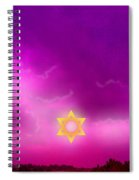 Storm Clouds Gather Over Jerusalem Spiral Notebook