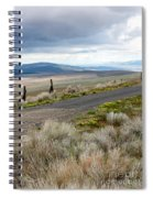 Storm Clouds Gathering Over Washington Hills Spiral Notebook
