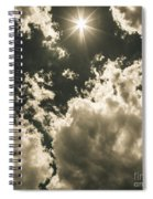 Storm Clouds Gathering Spiral Notebook