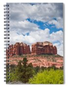 Storm Clouds Over Cathedral Rocks Spiral Notebook