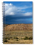 Storm Clouds Over Central Wyoming Spiral Notebook