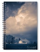 Storm Coming To The Old Farm Spiral Notebook