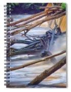 Storm Debris Spiral Notebook