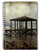 Storm In The Distance Spiral Notebook
