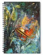 Storm In The Night Spiral Notebook