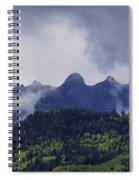 Storm In The San Juan Mountains Spiral Notebook