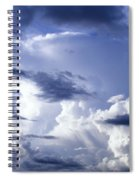 Storm Of Namibia Spiral Notebook