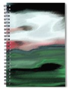Storm On The American Landscape Spiral Notebook