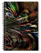 Storm On The Great Sea At Aquaran Spiral Notebook