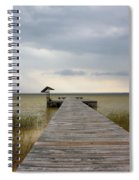 Storm On The Horizon Spiral Notebook