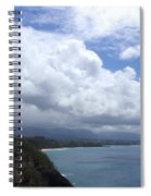 Storm Over Bali Hai Spiral Notebook