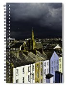 Storm Over Conwy Spiral Notebook