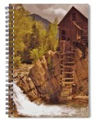 Storm Over Crystal Mill Spiral Notebook