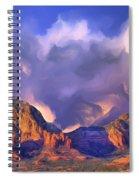 Storm Over Sedona Spiral Notebook