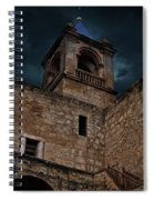 Storm Over The Alcazaba - Antequera Spain Spiral Notebook