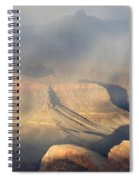 Storm Over The Grand Canyon Spiral Notebook