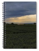 Storm Over The Yakima Valley Spiral Notebook