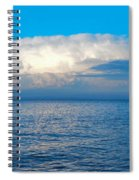 Storm Over Whitefish Bay Spiral Notebook