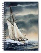 Storm Sailing Spiral Notebook