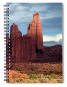 Storm Shadows Spiral Notebook
