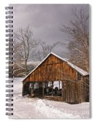 Storm Shed Spiral Notebook