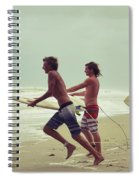 Storm Surfers Spiral Notebook