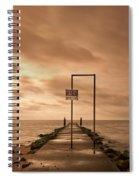 Storm Warning Spiral Notebook