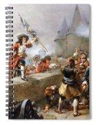 Storming The Battlements Spiral Notebook