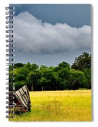 Storm's Arrival Spiral Notebook