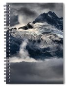 Storms Over Jagged Peaks Spiral Notebook