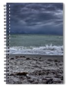 Storm's Rolling In Spiral Notebook