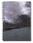 Stormy Blue Ridge Parkway Spiral Notebook