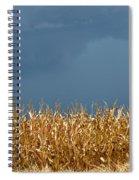 Stormy Corn Spiral Notebook