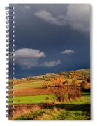 Stormy Countryside Spiral Notebook
