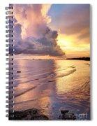 Stormy Glow Spiral Notebook